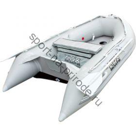Лодка HDX надувная, модель OXYGEN 240 AL, цвет серый