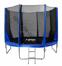 Батут OPTIFIT JUMP 12ft 3,66 м синий