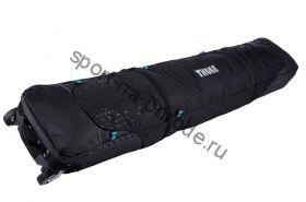 Чехол для 2-х пар горных лыж RoundTrip Double Ski Roller 190см, черный (Black)