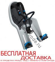 Детское велосипедное сидение на раму Thule RideAlong Mini, светло серый