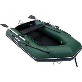 Лодка JET! надувная, модель NORFOLK 260 AM, цвет зеленый