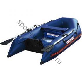 Лодка NISSAMARAN надувная, модель TORNADO 230, цвет синий   (аллюм. пол) A/L