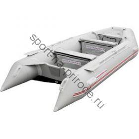 Лодка NISSAMARAN надувная, модель MUSSON 360, цвет серый (дерев. пол) P/L