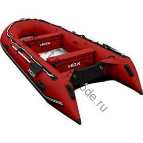 Лодка HDX надувная, модель OXYGEN 470 AL, цвет красный