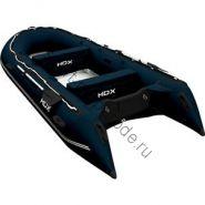 Лодка HDX надувная, модель OXYGEN 430 AL, цвет синий
