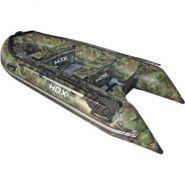Лодка HDX надувная, модель OXYGEN 280 AL, цвет камуфляж зеленый