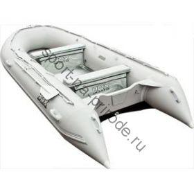 Лодка HDX надувная, модель OXYGEN 470 AL, цвет серый