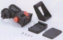 Крепеж для корзины FLINGER SW-QRA на руль быстросъемный, с крепежём под велокомпьютер или фонарь, максимальная нагрузка 10кг