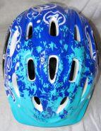 Велошлем детский с регулировкой размера. Цвет синий