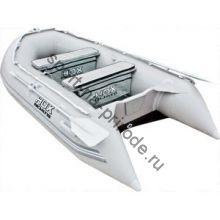 Лодка HDX надувная, модель OXYGEN 300 Airmat, цвет серый