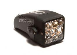 Передний фонарь MASTER RHL-11N, 8 светодиодных линз, с крепежем, черный