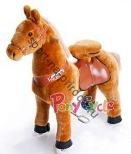 """Поницикл  """"Светло-коричневая лошадка"""" средний"""