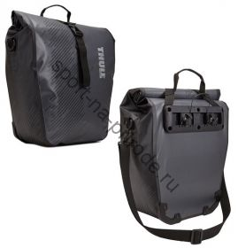"""Набор велосипедных сумок Thule Pack""""n Pedal Shield Pannier, размер L, темно серый (2 шт.)"""