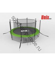 Батут Unix 14 ft inside (green)