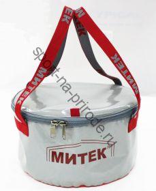 Ведро Митек с крышкой D 40см, Н 20 см.