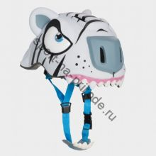 Защитный шлем Crazy Safety «Белый тигр»
