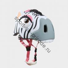 Защитный шлем Crazy Safety «Зебра»