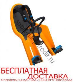 Детское велосипедное сидение на раму Thule RideAlong Mini, оранжевый