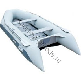 Лодка JET! надувная, модель SYDNEY 370 PL, цвет серый