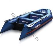 Лодка NISSAMARAN надувная, модель TORNADO 320, цвет синий  (аллюм. пол) A/L