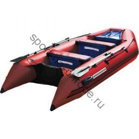Лодка NISSAMARAN надувная, модель TORNADO 360, цвет красный  (аллюм. пол) A/L