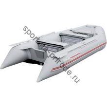 Лодка NISSAMARAN надувная, модель TORNADO 320, цвет серый (аллюм. пол) A/L