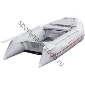 Лодка NISSAMARAN надувная, модель TORNADO 290, цвет серый (аллюм. пол) A/L