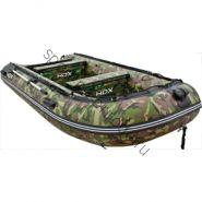 Лодка HDX надувная, модель OXYGEN 390 AL, цвет камуфляж зеленый