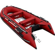 Лодка HDX надувная, модель OXYGEN 370 AL, цвет красный