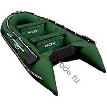 Лодка HDX надувная, модель OXYGEN 330 AL, цвет зелёный