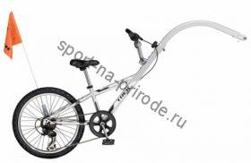"Велосипед Trek'12 MT 206 20"" Silver Mirror"