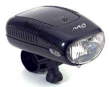 Передний фонарь QL-99N Xenon лампа, с крепежем, цв.серебро