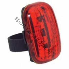 Задний фонарь MASTER QL-88R красная линза красный светоизлучающий диод, 2 режима работы, с крепежем, цвет черный